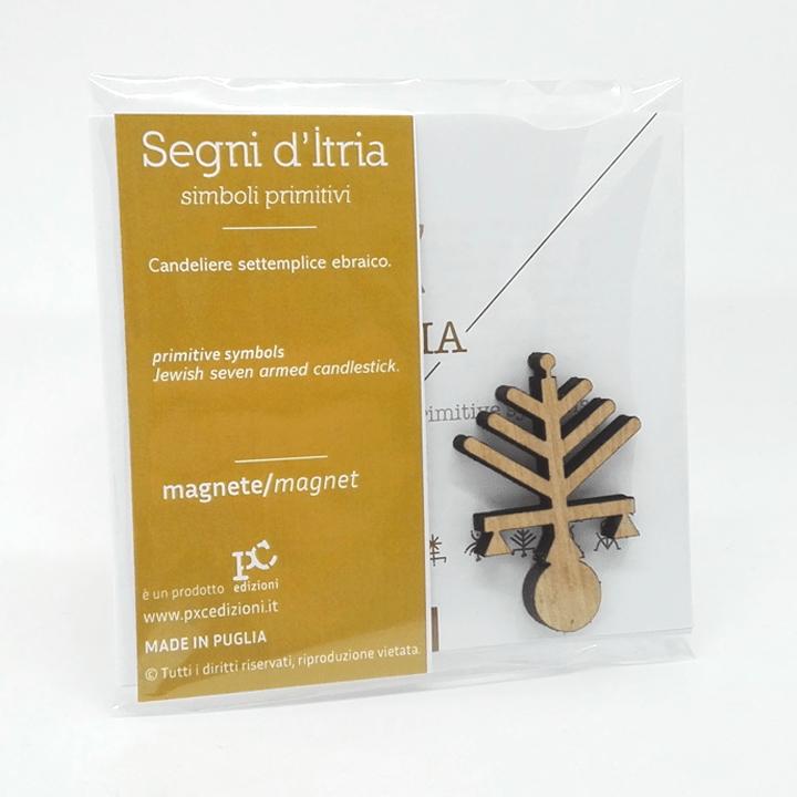 Magnete - Segni d'Itria - Candeliere PxC Edizioni