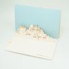 Cartolina pop-up Skyline di Ostuni pxcedizioni.it