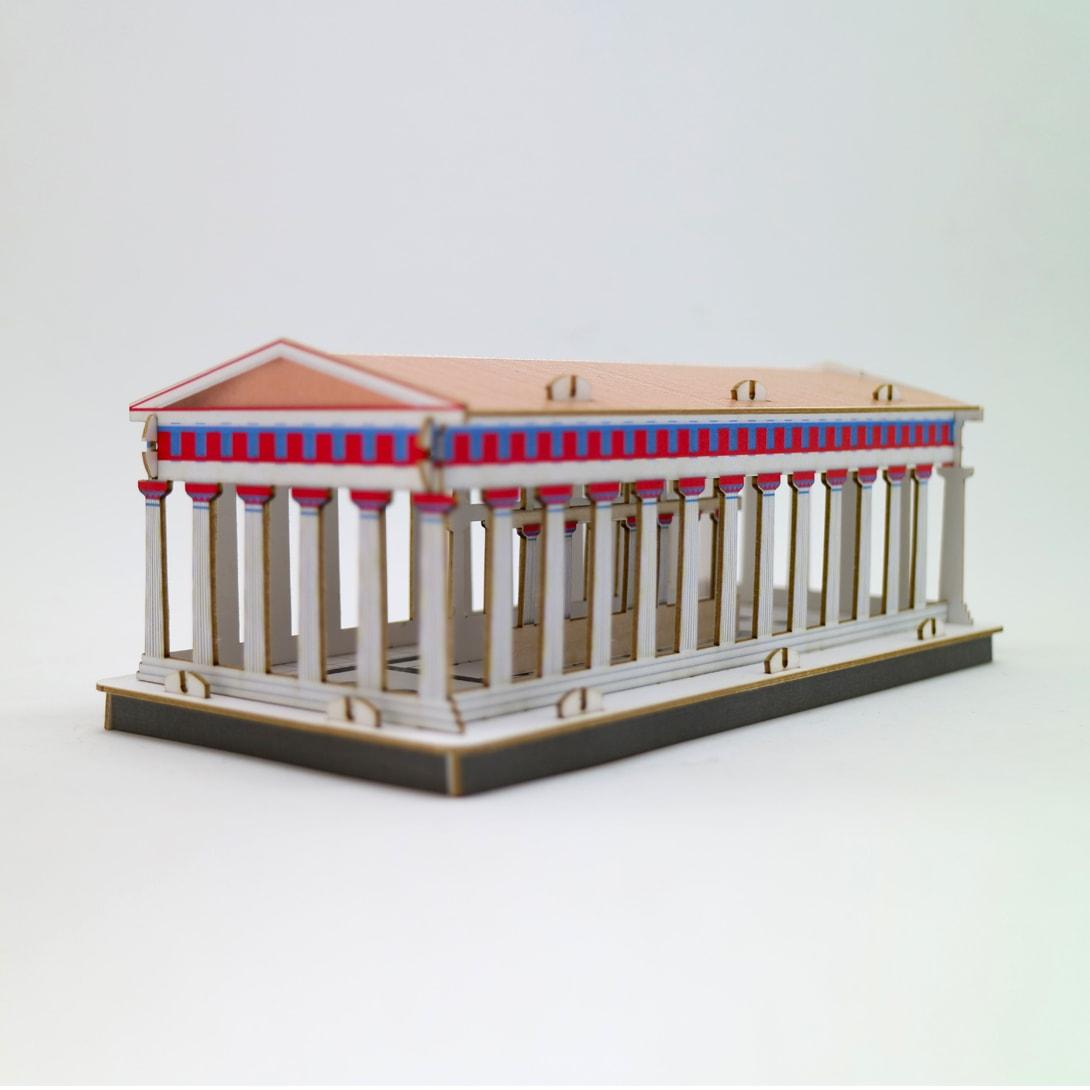 Tempio di Nettuno - Parco Archeologico di Paestum - PxC Edizioni Made in Puglia