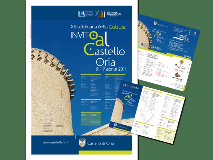 Manifesto - Oria - Settimana della cultura - Puglia - PxC Edizioni