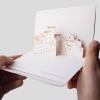 Cartolina a comparsa Skyline della Città di Ceglie Messapica PxC Edizioni Editoria Made in Puglia