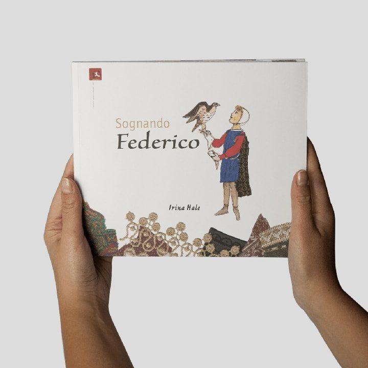 Libro Sognando Federico - Libri su Federico II Puglia PxC Edizioni Editoria Made in Puglia